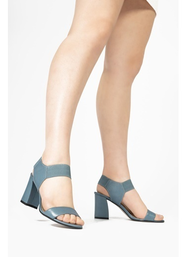 CZ London Sandalet Mavi
